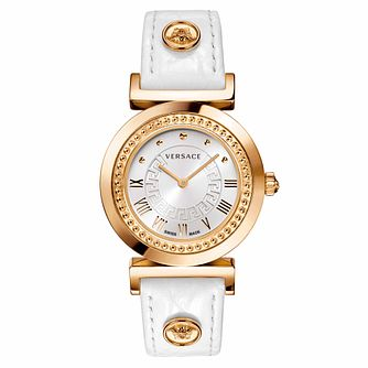 Versace Vanity Ladies' Round Strap Watch - Product number 1041991
