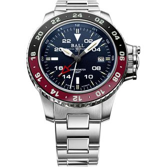 Ball Engineer Hydrocarbon AeroGMTII Stainless Steel Watch - Product number 1045245