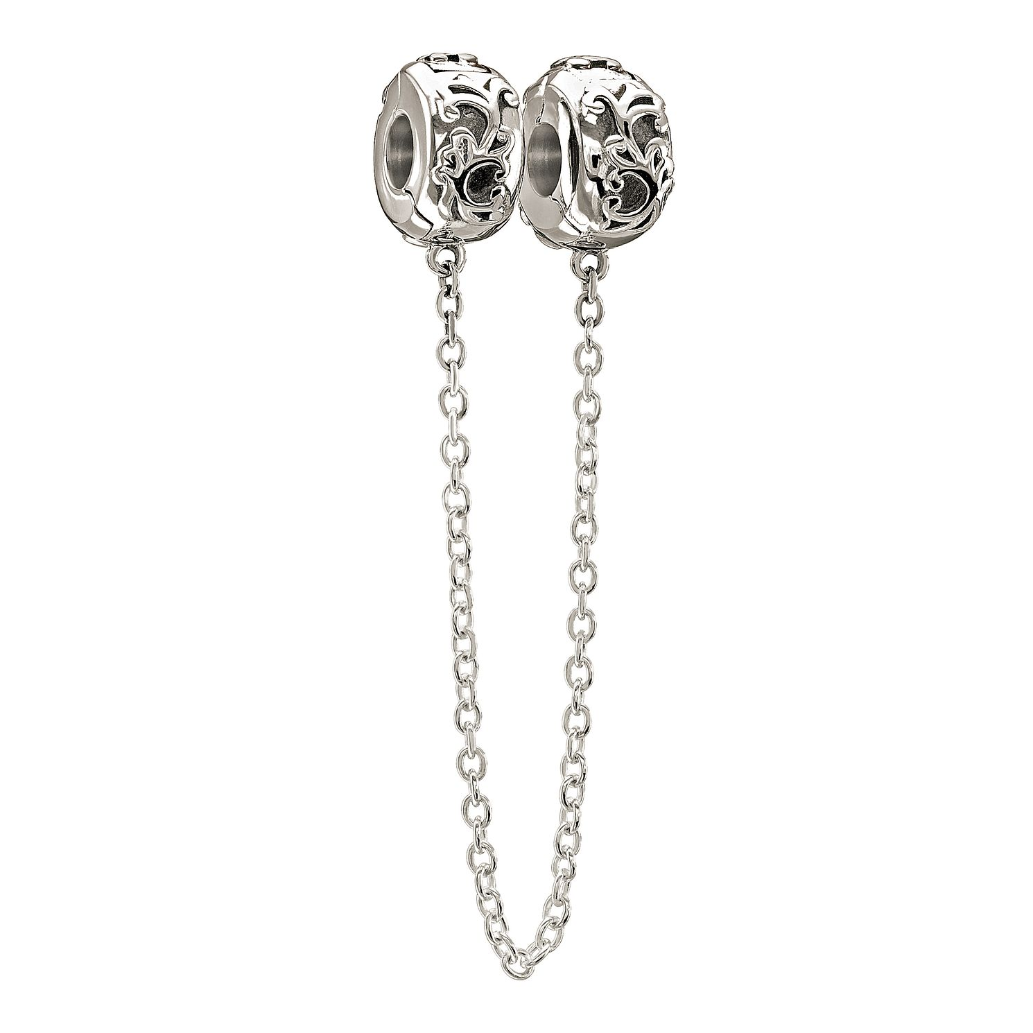 Chamilia Sterling Silver Filigree Safety Chain - Product number 1058622