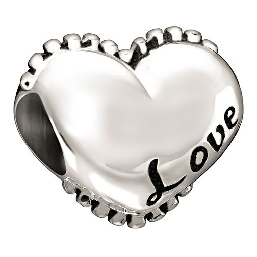 Chamilia Love sterling silver bead - Product number 1058789