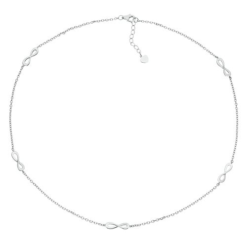 Silver Infinity Symbol Necklace - Product number 1059386