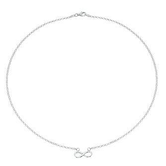 Silver Infinity Symbol Necklace - Product number 1059548