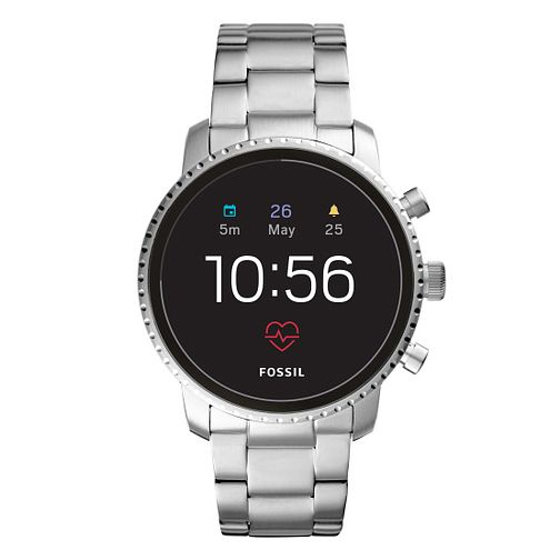 Fossil Smartwatches Explorist HR Gen 4 Stainless Steel Watch - Product number 1060961