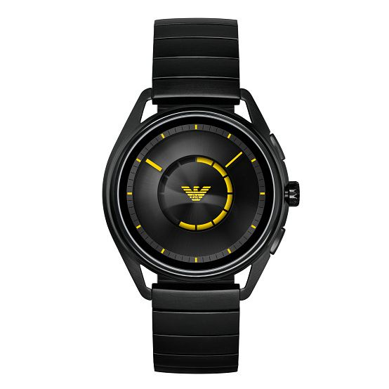 Emporio Armani Connected Men's Black Smartwatch - Product number 1061097