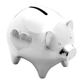Wedgwood Vera Wang Baby silver-plated piggy bank - Product number 1063375