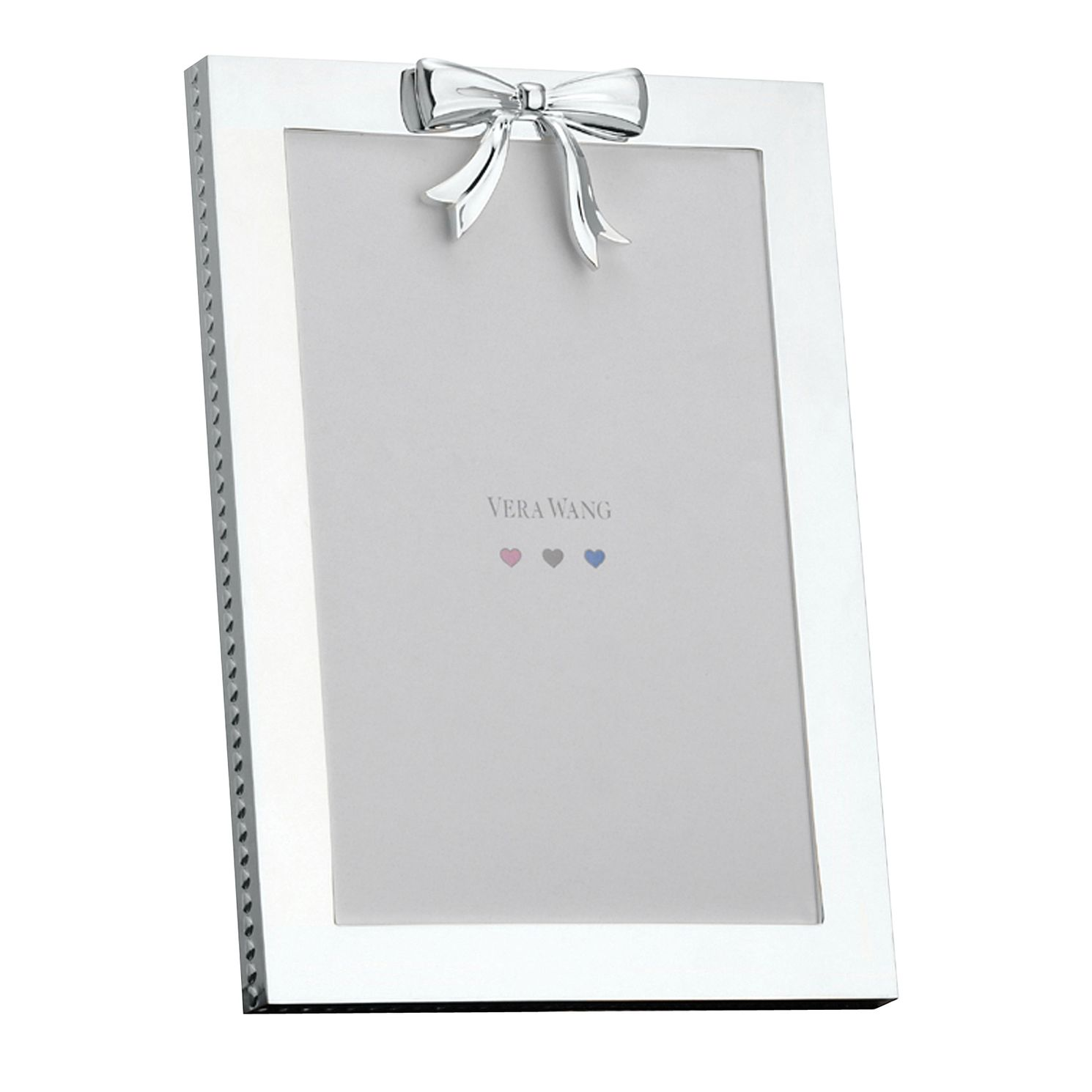 Vera Wang 10X15Cm Bow Detail Christening Photo Frame - Product number 1063448