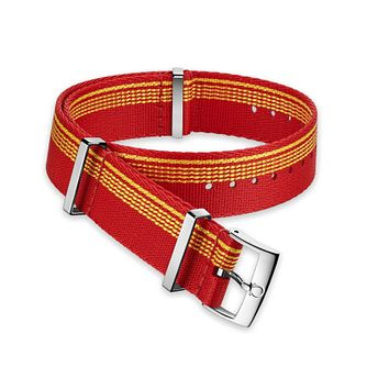 Omega Red And Orange Nato Strap 19.5mm - Product number 1064339