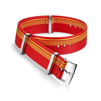 Omega Red And Orange Nato Strap 21.5mm - Product number 1064347