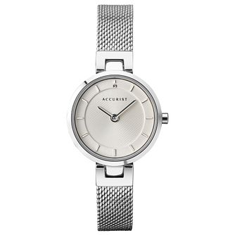 Accurist Milanese Ladies' Stainless Steel Bracelet Watch - Product number 1065041