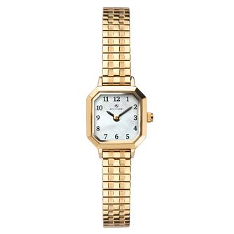 Accurist Ladies' Gold Plated Expander Bracelet Watch - Product number 1065076