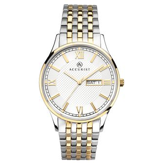 Accurist Signature Men's Two-Tone Bracelet Watch - Product number 1065130
