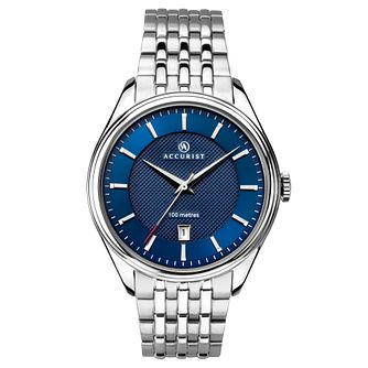 Accurist Sports Men's Stainless Steel Bracelet Watch - Product number 1065173