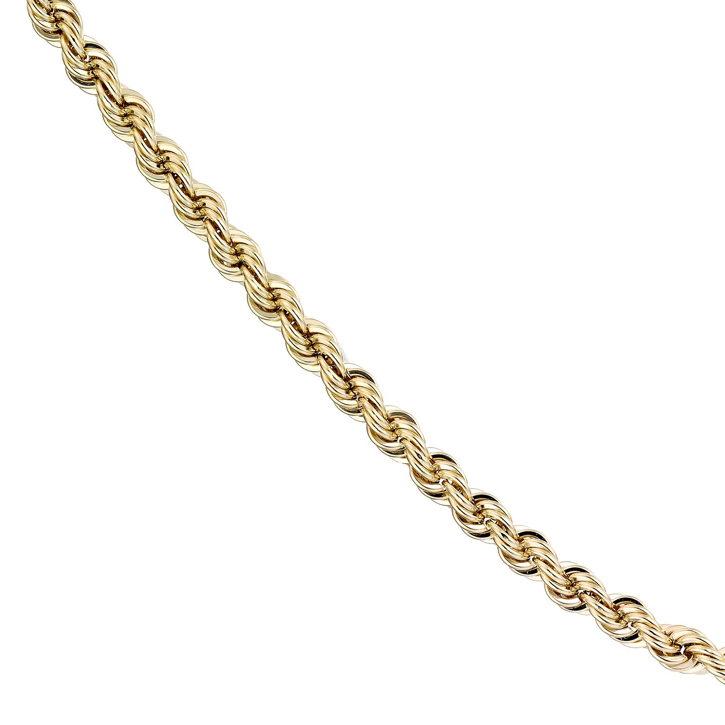 9ct Yellow Gold 20 Inch Rope Chain - Product number 1065580