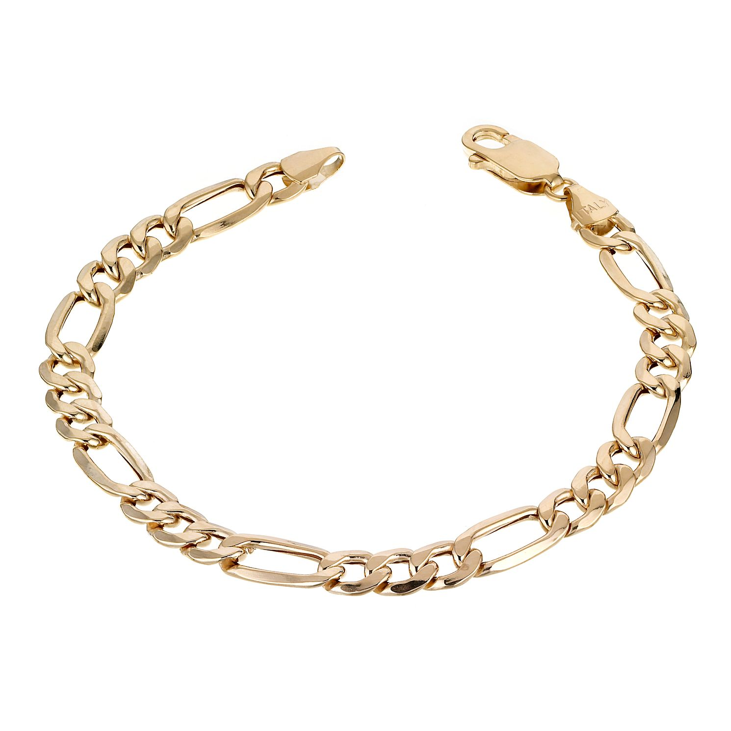 9ct Yellow Gold 7.25 inches Fiagro Bracelet - Product number 1065629