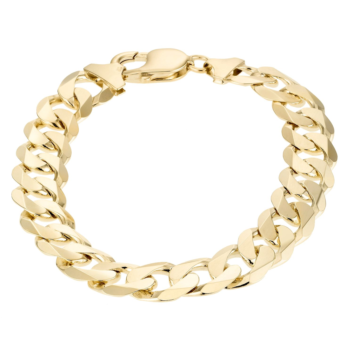 9ct Yellow Gold Men's 8.5