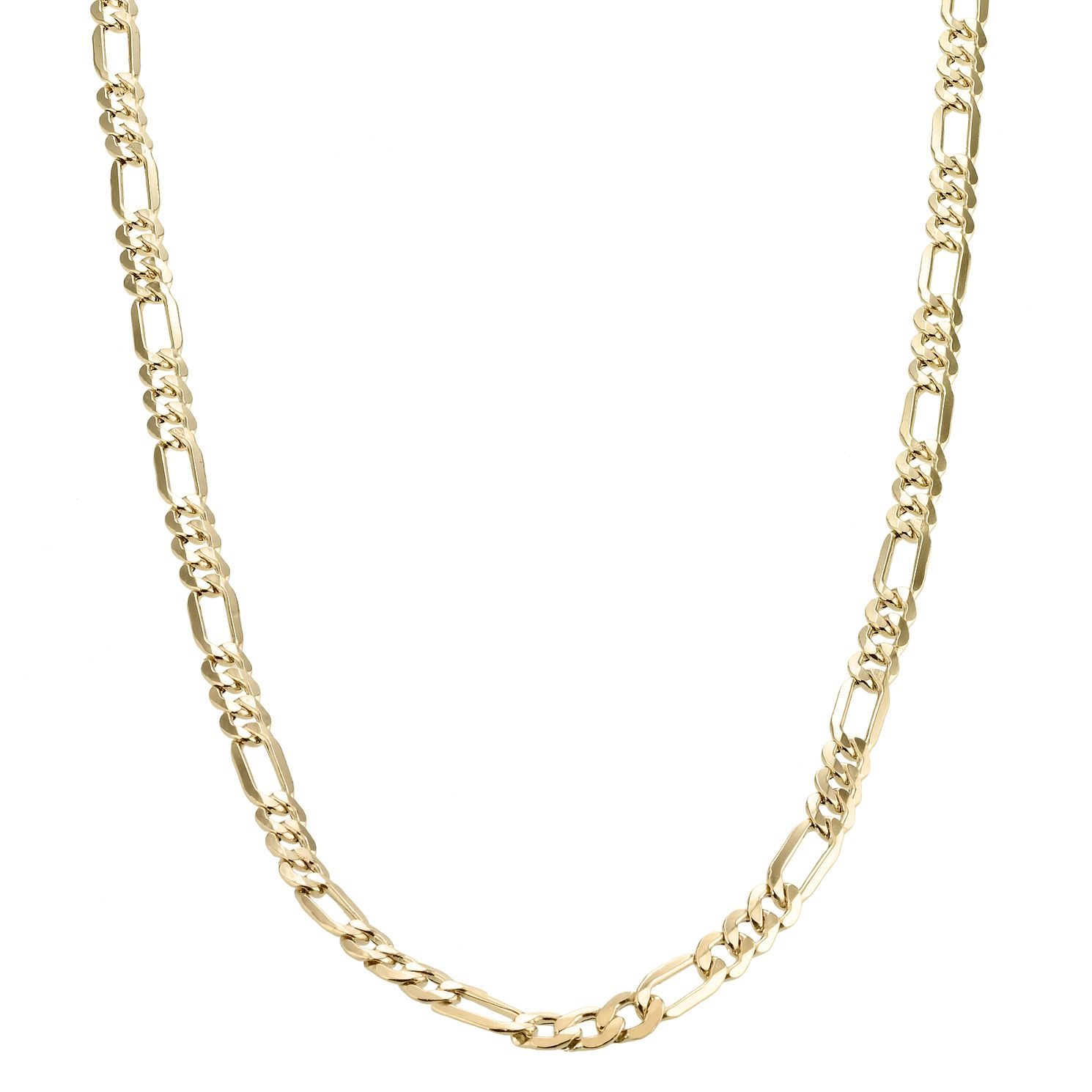 9ct Yellow Gold 20 inches Fiagro Necklace - Product number 1065661