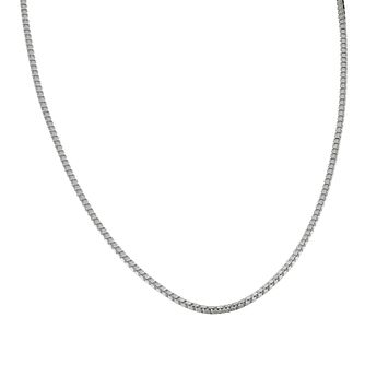 "Sterling Silver 18"" Box Chain Necklace - Product number 1070622"