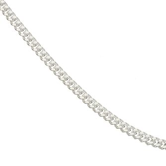 Sterling Silver 20 inches Curb Chain Necklace - Product number 1070681