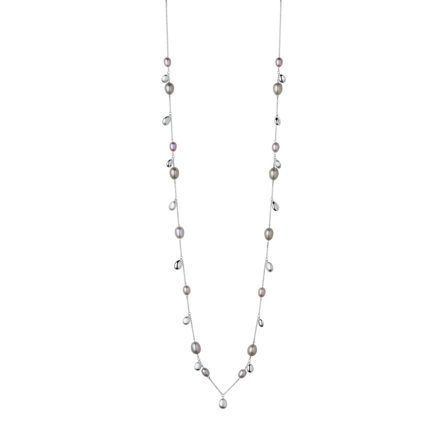 Links Of London Silver Hope Pearls Long Necklace - Product number 1074474