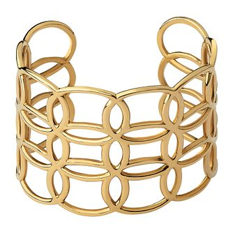 Links Of London Ovals 18Kt Yellow Gold Vermeil Cuff Bracelet - Product number 1074482