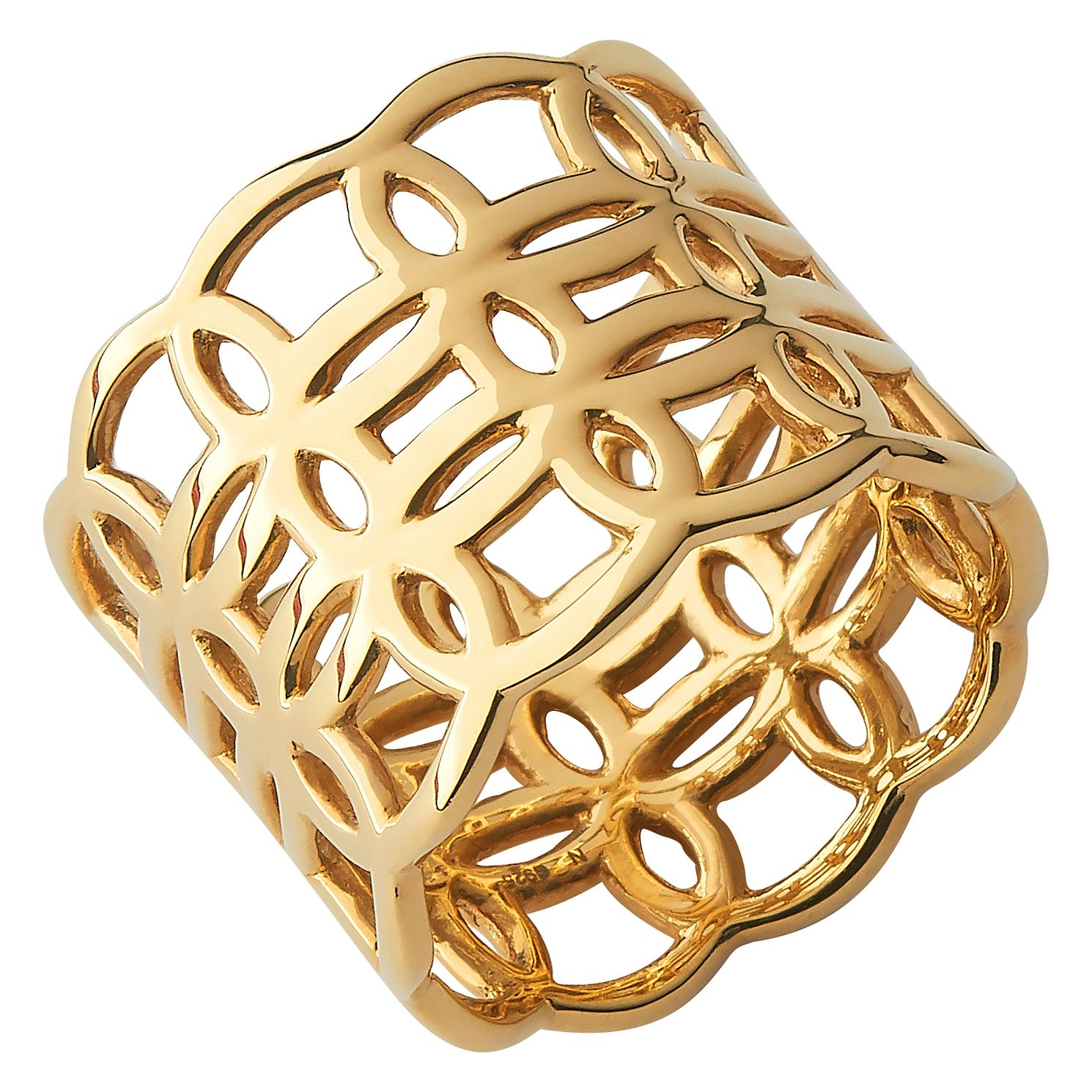 Links Of London Ovals 18Kt Yellow Gold Ring - Product number 1074571
