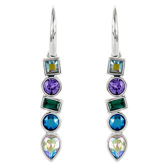 Adore Ladies' Mixed Crystal French Wire Earrings - Product number 1074903