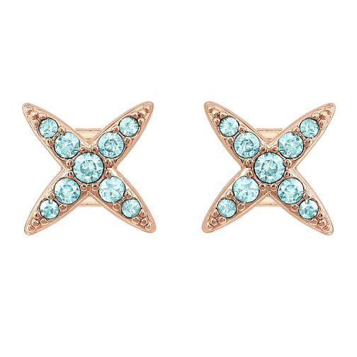 Adore Ladies' Four Point Star Gold Plated Stud Earrings - Product number 1074954
