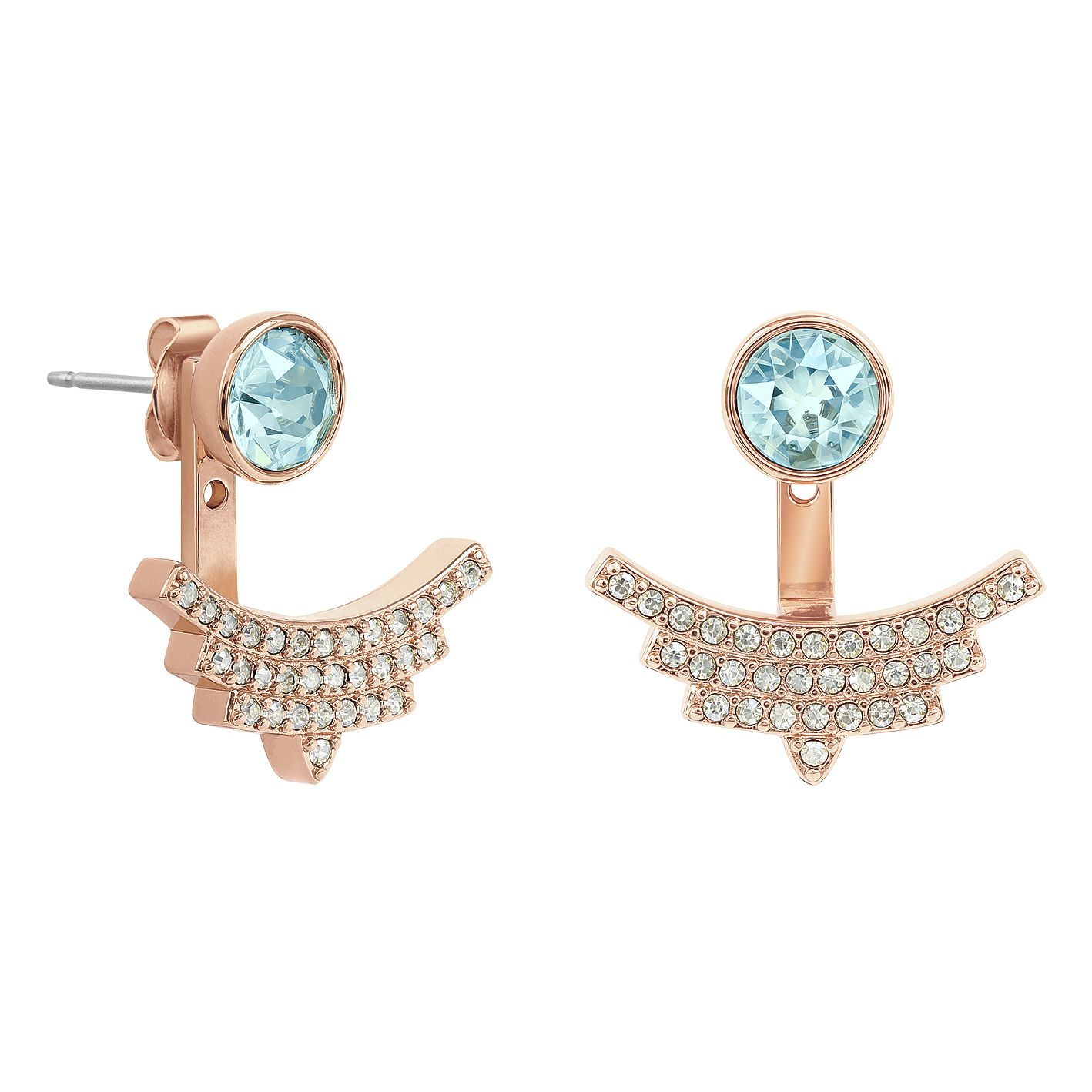 Adore Ladies' Rose Gold Plated Earrings - Product number 1074962