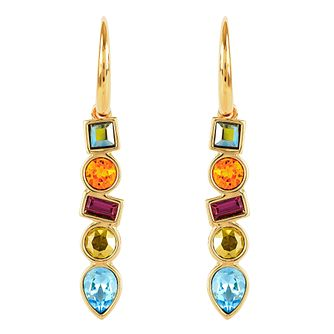 Adore Ladies Yellow Gold Mixed Crystal French Wire Earrings - Product number 1075128