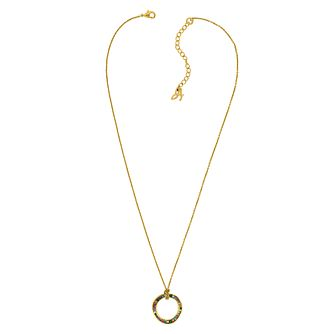 Adore Ladies' Yellow Gold Plated Circle Pendant - Product number 1075217