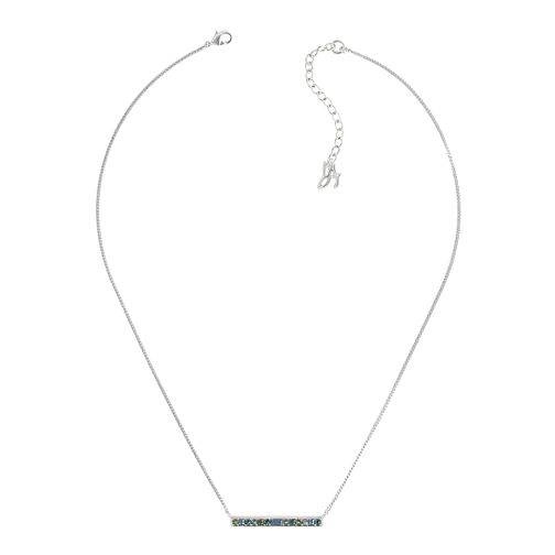 Adore Ladies' Baguette Bar Blue Necklace - Product number 1075268