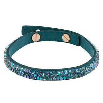 Adore Ladies' Leather Rock Teal Bracelet - Product number 1075349