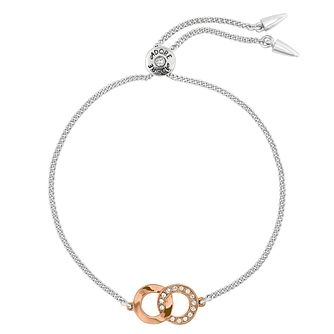 Adore Two Tone Ring Bracelet - Product number 1075357