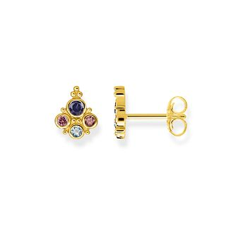 Thomas Sabo Yellow Gold Plated Kingdom Sunset Earrings - Product number 1075535