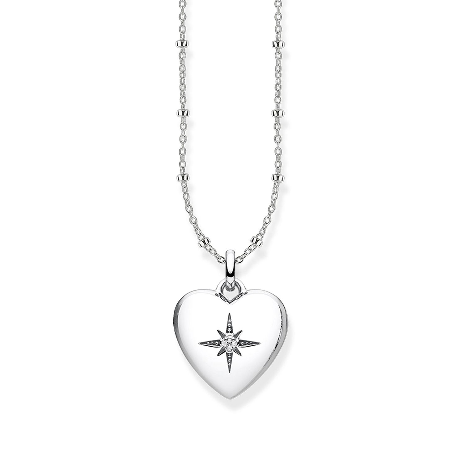 Thomas Sabo Glam & Soul Sterling Silver Heart Locket - Product number 1075551