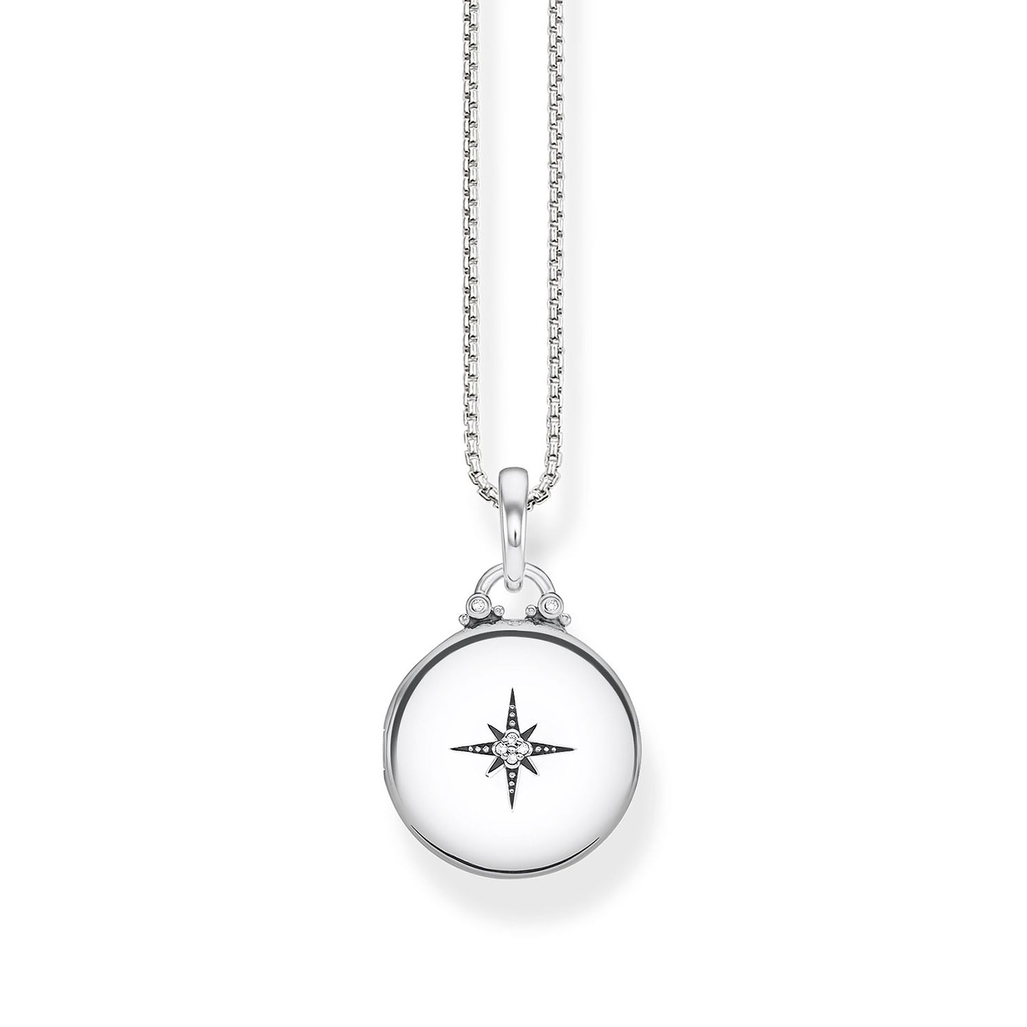 Thomas Sabo Glam & Soul Sterling Silver Round Locket - Product number 1075578