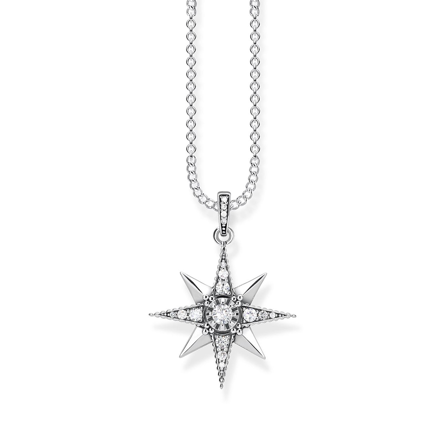 Thomas Sabo Glam & Soul Sterling Silver Star Necklace - Product number 1075594