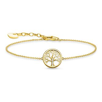 Thomas Sabo Glam & Soul Tree of Love Gold Plated Bracelet - Product number 1075667