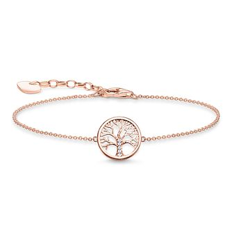 Thomas Sabo Glam & Soul Tree of Love Rose Gold Bracelet - Product number 1075675