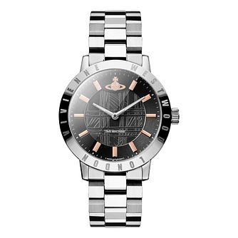 Vivienne Westwood Ladies Bloomsbury Grey Bracelet Watch - Product number 1075861