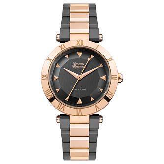 a48909938ae Vivienne Westwood Montagu Ladies  Two-Tone Bracelet Watch - Product number  1075918