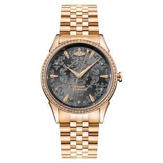 Vivienne Westwood Wallace Ladies' Rose Tone Bracelet Watch - Product number 1075934