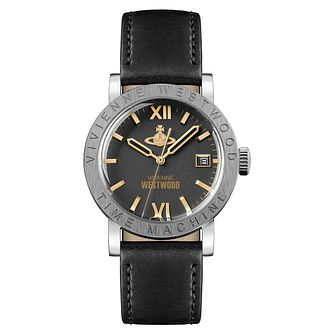 Vivienne Westwood Kingsgate Men's Black Strap Watch - Product number 1075969