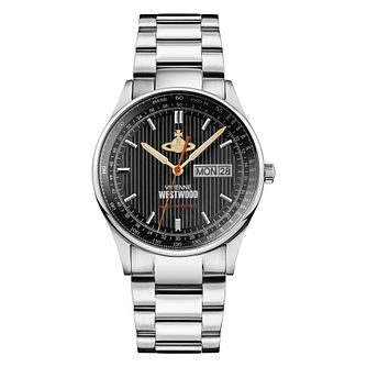 Vivienne Westwood Cranborne Men's Steel Bracelet Watch - Product number 1075977