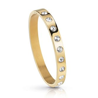 Guess Gold Plated Crystal Bangle - Product number 1082760