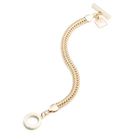 Annie Klein Gold Flat Chain Bracelet - Product number 1083295
