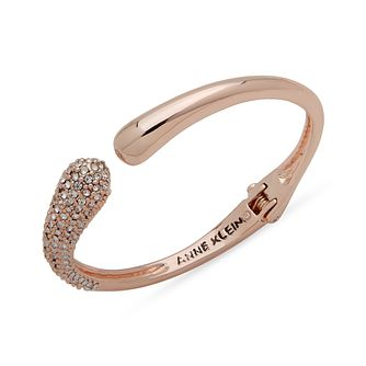 Anne Klein Crystal Hinge Torc Bangle - Product number 1083341