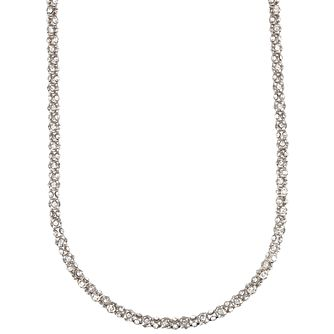 Annie Klein Silver Crystal Pave Necklace 42 Inches - Product number 1083384