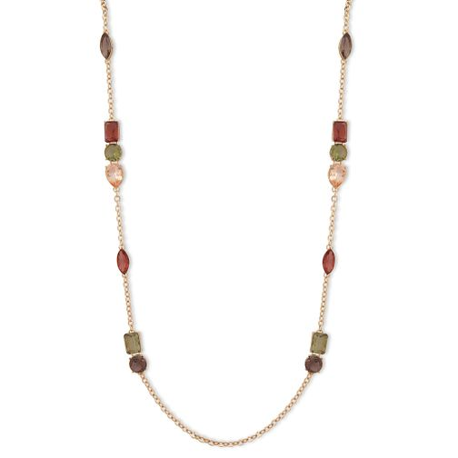Anne Klein Fall In Love Multi-Stone Pendant Strand Necklace - Product number 1083422