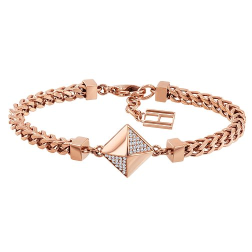 Tommy Hilfiger Rose Gold Plated Box Chain Bracelet - Product number 1083600